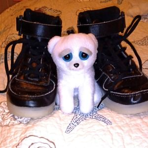 Nice pair of shoes with little toy size 13 kids